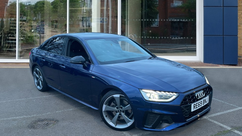 Used Audi A4 Saloon 2.0 TFSI 35 Black Edition S Tronic (s/s) 4dr