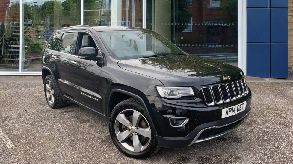 Used Jeep Grand Cherokee SUV 3.0 V6 CRD Limited Auto 4WD 5dr