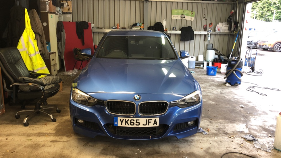 Used BMW 3 Series Saloon 2.0 320d BluePerformance M Sport Auto (s/s) 4dr