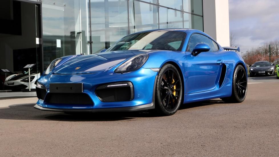 Porsche Cayman GT4 image 4