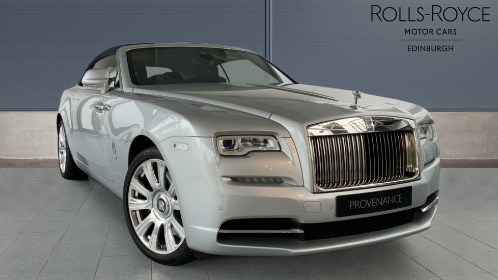 Rolls-Royce Dawn 2dr Auto - Low Miles - Navy Blue Hood 6.6 Automatic Convertible