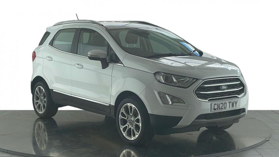 Ford EcoSport 1.0 EcoBoost 125ps Titanium 5dr, Satellite Navigation, Euro 6 Rated, Hatchback (2020)