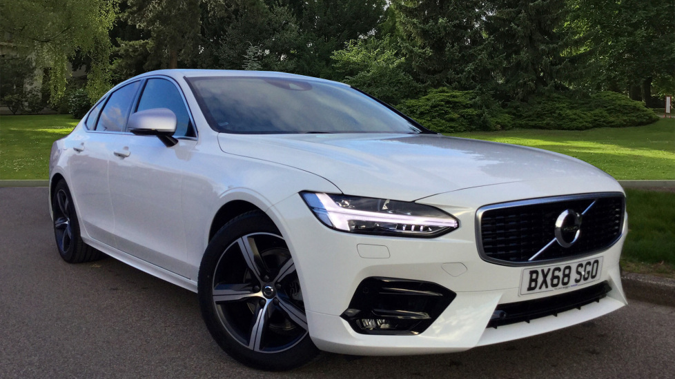 Volvo S90 D4 R Design Automatic Winter Pack Rear Parking