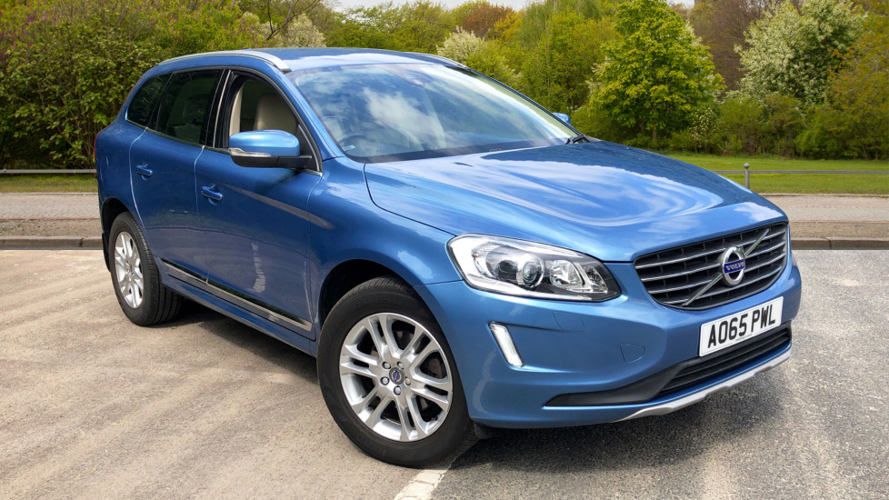 Volvo XC60 D4 SE Lux Nav Auto, Family Pack, Sensus Navigation and Powered Memory Drivers Seat 2.0 Diesel Automatic 5 door Estate (2015) image