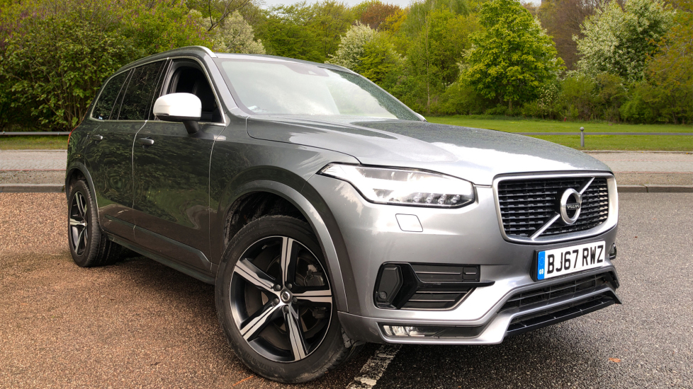 Volvo XC90 2.0 D5 PP AWD R Design Nav Auto with Winter Pack, Heated Screen, R.Camera, S/Phone Int, CD Player. Diesel Automatic 5 door Estate (2017) image