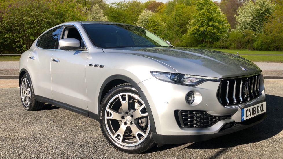 Maserati Levante 3.0d V6 AWD Auto with Leather, Rear Camera and ECC Diesel Automatic 5 door 4x4 (2018) at Volvo Croydon thumbnail image