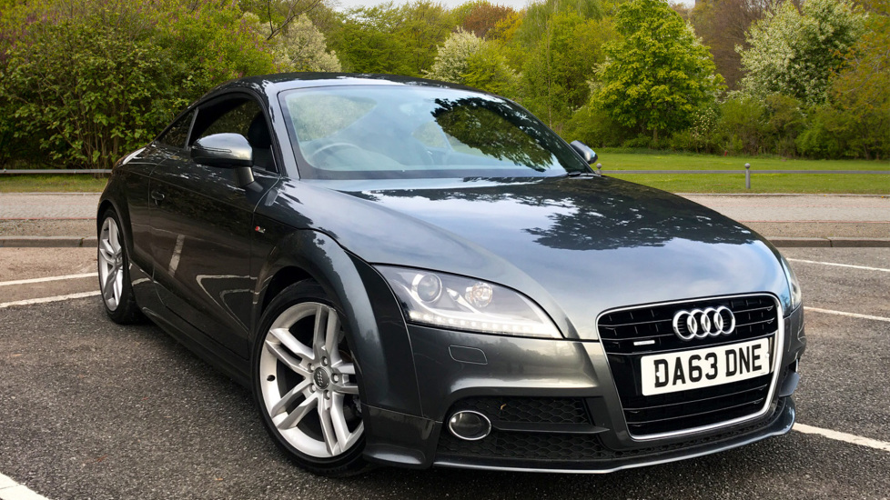 Audi TT 2.0T FSI Quattro S Line S Tronic Auto With. Tinted Glass, Voice activation & Sports Suspension Automatic 5 door Coupe (2013) image