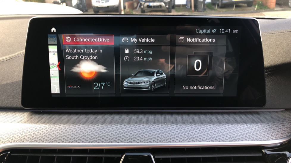 BMW 5 Series 530e M Sport Auto, Plug In Hybrid, Rear Camera, Heated Seats, Nav, 80Gb Hard Drive, DAB Radio image 27