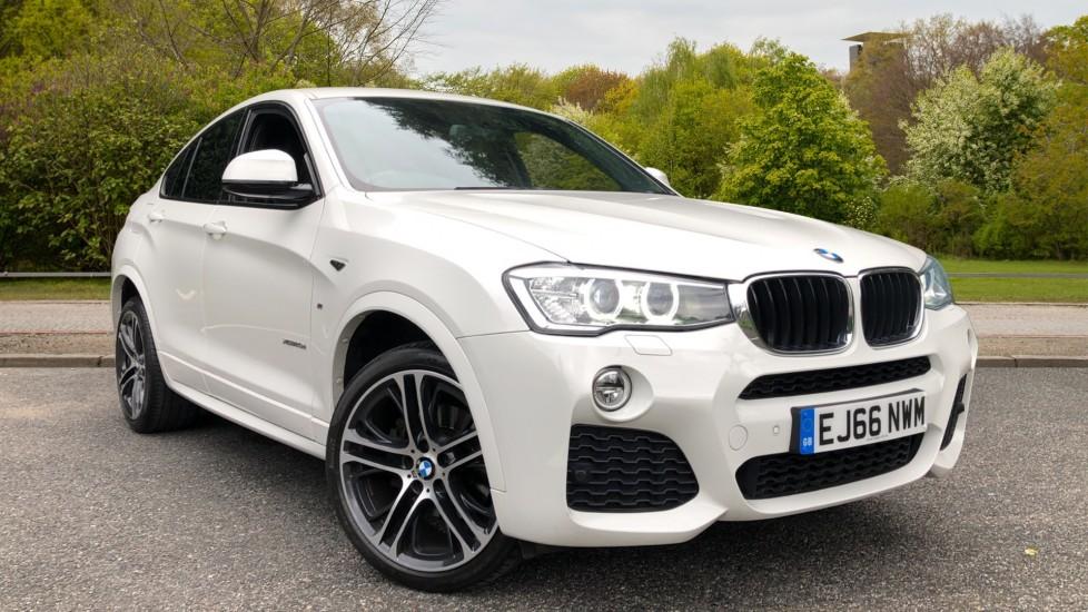 BMW X4 xDrive20d M Sport Auto, M Sport Plus Package, Professional Media, Rear Camera, Auto Dimming Mirrors 2.0 Diesel Automatic 5 door 4x4 (2016)