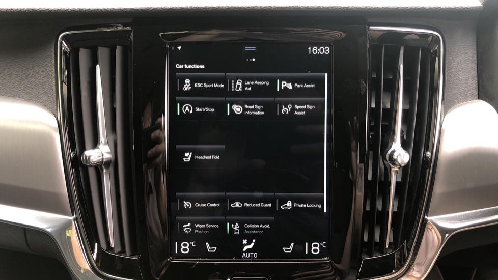 Volvo V90 D4 Momentum Auto with Pilot Assist, Adaptive Cruise, DAB Radio, F & R Park Sensors, Heated F.Seats image 16