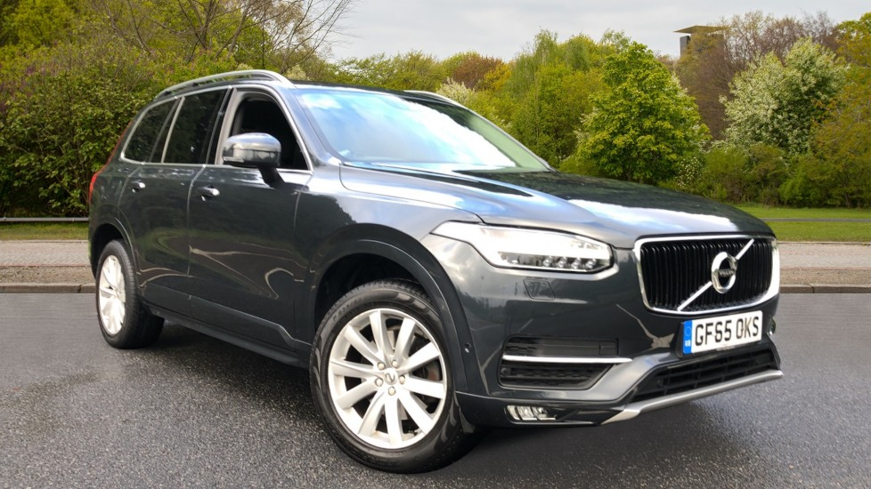 Volvo XC90 D5 Momentum AWD Auto, Nav, Winter Pack, Bending Lights, DAB Radio, CD Player, Park Pilot 2.0 Diesel Automatic 5 door 4x4 (2015) available from Land Rover Swindon thumbnail image