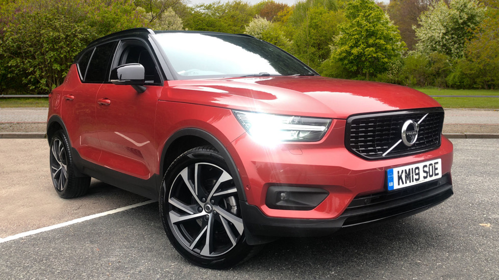 Volvo XC40 T4 AWD R Design Pro Nav Auto with F & R Sensors, Xenium Pk, 360 Camera & Panor Roof 2.0 Automatic 5 door 4x4 (2019) image