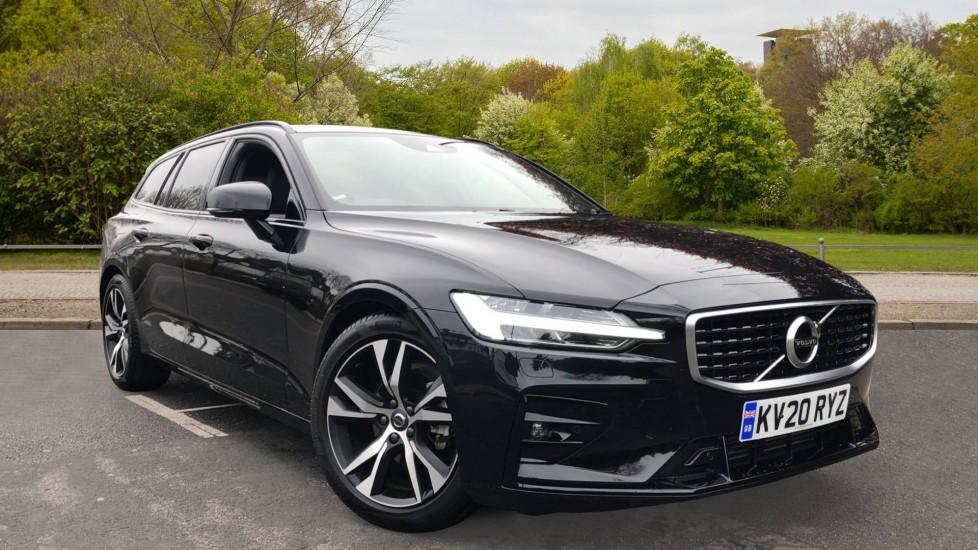 Volvo V60 D3 R Design Plus Auto, Nav, Winter & Convenience Packs, Heated Screen, Adaptive Cruise, BLIS 2.0 Diesel Automatic 5 door Estate (2020)