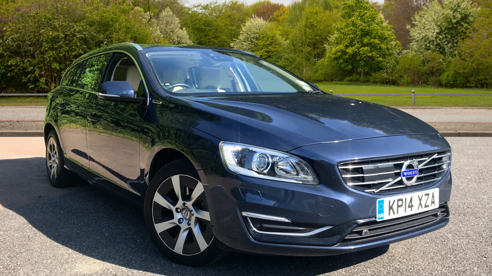 Volvo V60 D6 AWD Plug-in Hybrid Pure Limited SE Lux Nav Auto with Driver Support & Family Pack 2.4 Diesel/Electric Automatic 5 door Estate (2015) image