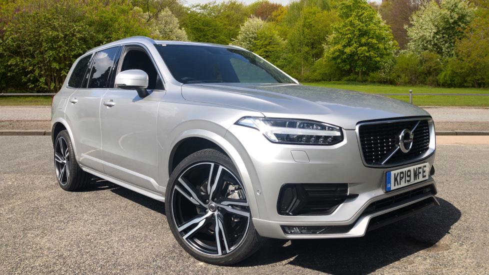 Volvo XC90 2.0 D5 PowerPulse R Design Pro AWD Auto with Xenium Pk, 7 Seat Comfort Pk, S/Phone Int & BLIS Diesel Automatic 5 door Estate (2019) image