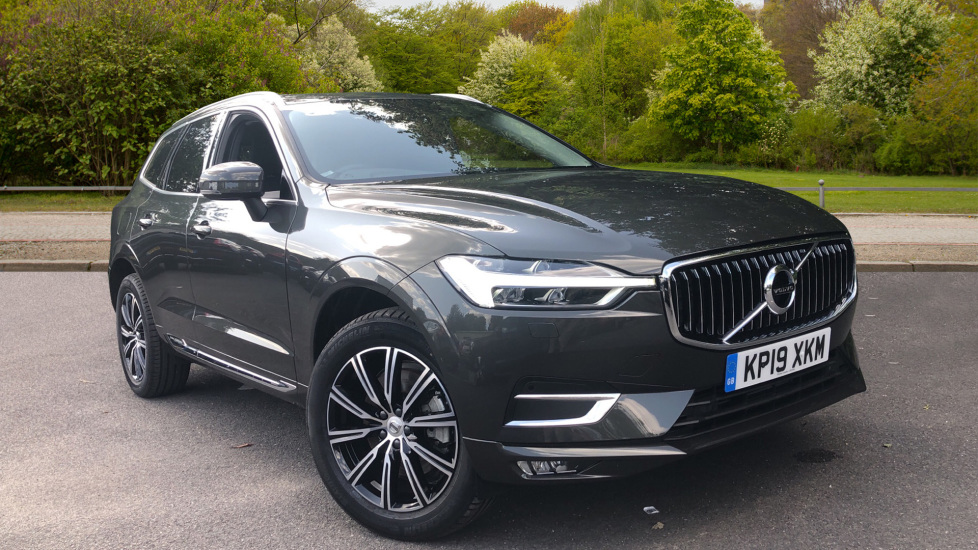 Volvo XC60 2.0 D4 Inscription Nav Auto AWD with Winter, BLIS, Keyless Drive, Smartphone Pack. Diesel Automatic 5 door Estate (2019) available from Land Rover Hatfield thumbnail image