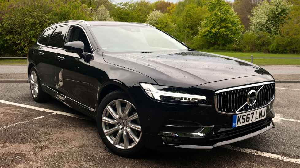 Volvo V90 2.0 D4 Inscription Auto W. Family Pack, Intellisafe Surround, Winter Pack & Xenium Pack Diesel Automatic 5 door Estate (2017) image