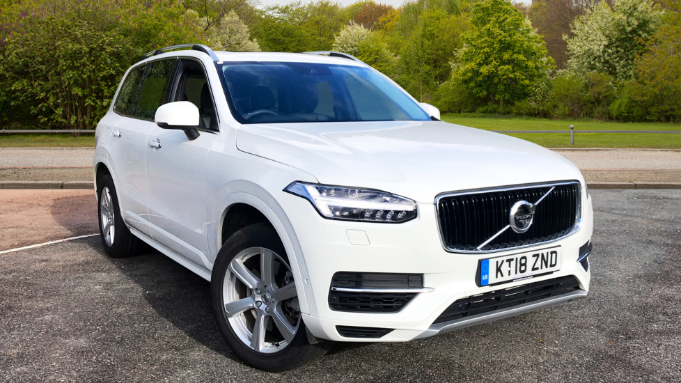 Volvo XC90 2.0 T8 Hybrid Petrol AWD Momentum Auto with Xenium Pack, Winter Pack, & Family Pack  Petrol/Electric Automatic 5 door Estate (2018) image