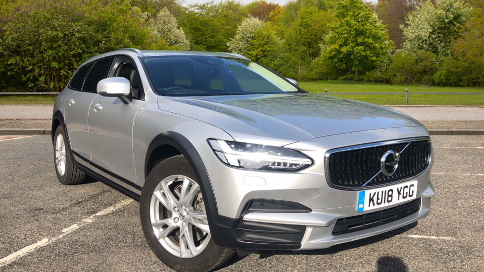 Volvo V90 2.0 D5 PP AWD Cross Country Pro Nav Auto with Family Pk, Winter Pk, BLIS, & Rear Camera Diesel Automatic 5 door Estate (2018) image