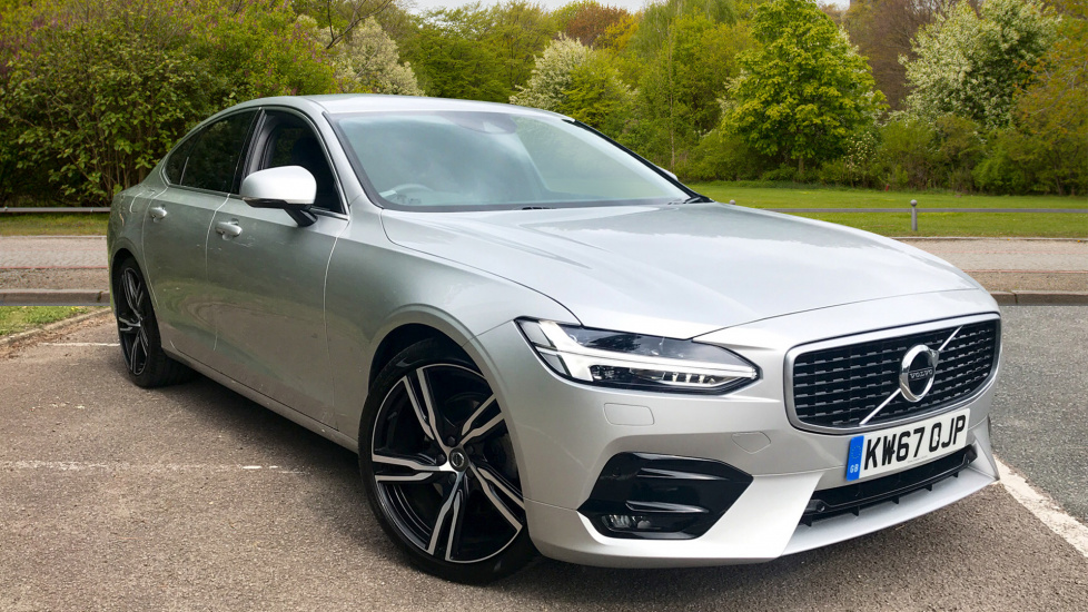 Volvo S90 2.0 D4 R Design Pro Automatic with Intellisafe Surround Pk, Seat Pack & Smartphone Integration Diesel 4 door Saloon (2017) image