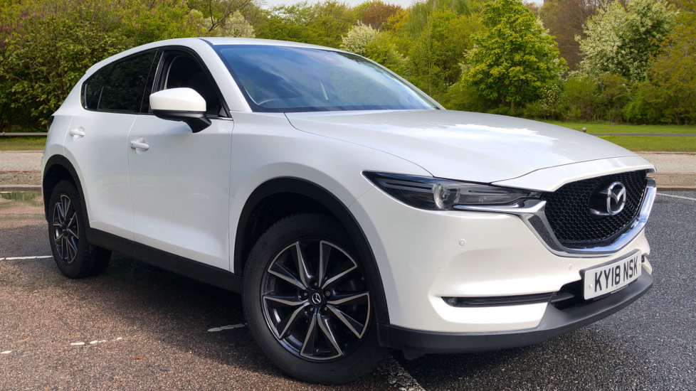 Mazda CX-5 2.2d Sport Nav AWD Auto with Bose Audio, Rev Cam, Keyless Entry & DAB Diesel Automatic 5 door 4x4 (2018) image