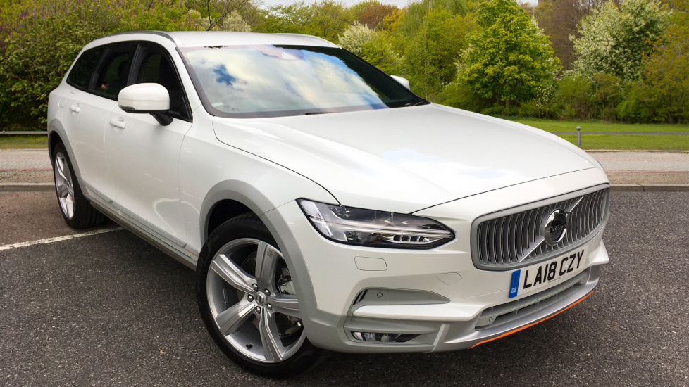 Volvo V90 2.0 D4 Cross Country Ocean Race AWD Auto W. Sensus Navigation & Front and Rear Park Assist Diesel Automatic 5 door Estate (2018) image