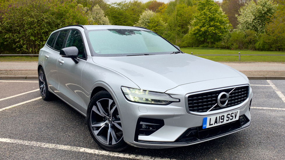 Volvo V60 2.0 D3 R Design With. Winter Pack, Smartphone Integration & Dark Tinted Windows Diesel Automatic 5 door Estate (2019) image