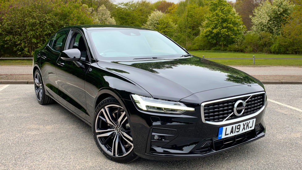 Volvo S60 2.0 T5 Petrol 250hp R Design Edition Nav Auto with Launch Pack, Rear Camera & Apple Car Play Automatic 5 door Saloon (2019) image