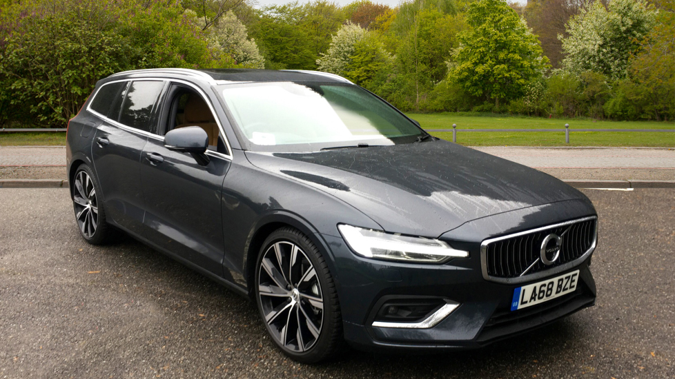 Volvo V60 2.0 D3 150hp Euro 6 Inscription Pro Nav Auto with Xenium Pack, Intellisafe Pro & Smartphone Diesel Automatic 5 door Estate (2018) image