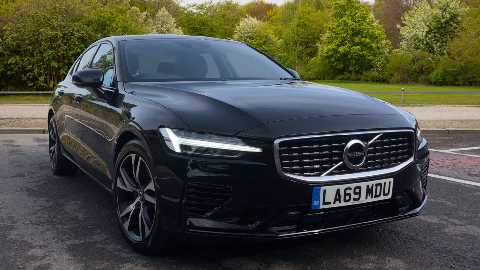 Volvo S60 T8 Hybrid R Design Plus AWD Auto, Winter Pk, Active Bending Lights, F & R Sensors, Keyless Drive 2.0 Petrol/Electric Automatic 4 door Saloon (2020)