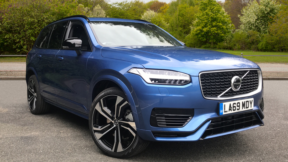 Volvo XC90 T8 Hybrid R Design Pro AWD Auto, Xenium & Family Pks, Head Up Display, HK Audio, BLIS 2.0 Petrol/Electric Automatic 5 door 4x4 (2020) image