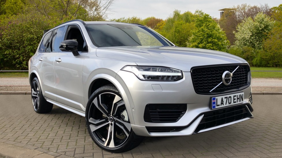 Volvo XC90 T8 Recharge PHEV R Design Pro AWD Auto, Lounge, Climate & Driver Assist Packs, Sunroof, B & W 2.0 Petrol/Electric Automatic 5 door 4x4 (2021) available from Volvo Croydon thumbnail image
