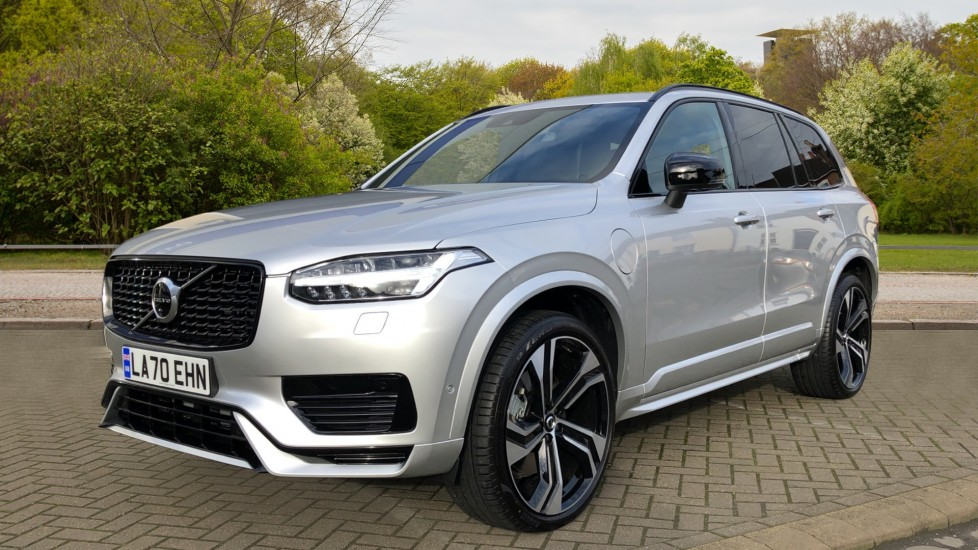 Volvo XC90 T8 Recharge PHEV R Design Pro AWD Auto, Lounge, Climate & Driver Assist Packs, Sunroof, B & W image 3