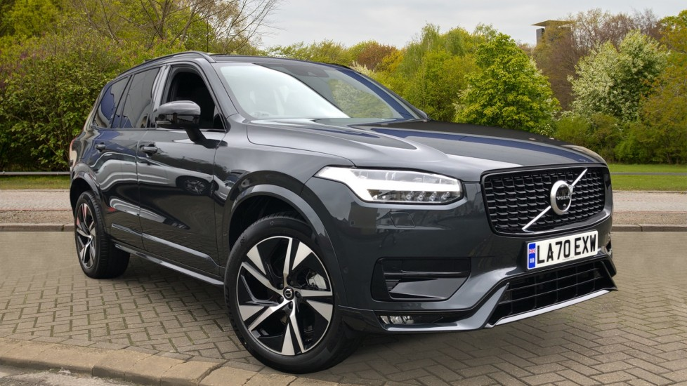 Volvo XC90 B5P Mild Hybrid R Design AWD Auto, Lounge, Climate & Driver Assist Packs, Sunroof, 360 Camera 2.0 Petrol/Electric Automatic 5 door 4x4 (2021)