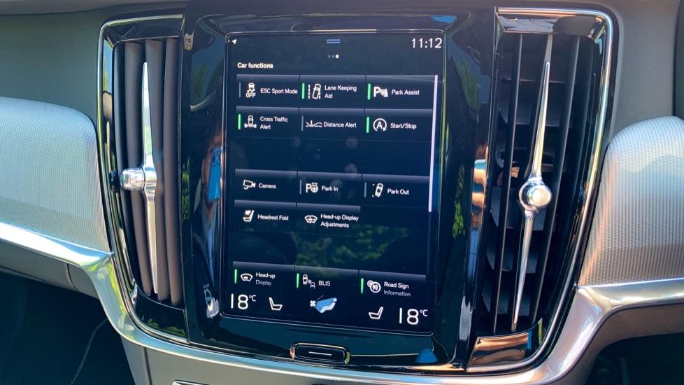 Volvo S90 T5 Petrol R Design Pro Nav Auto with SmartPhone, BLIS, Tints, 360Cam, Seat Pk & Xenium Pk image 22