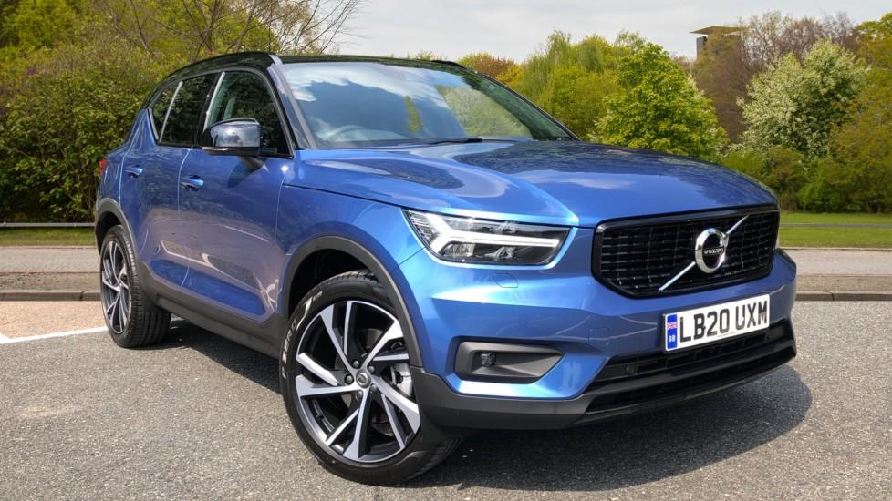 Volvo XC40 D4 R Design Pro AWD Auto, Winter Plus Pack, Rear Park Camera, Sat Nav, Heated Screen 2.0 Diesel Automatic 5 door 4x4 (2020)