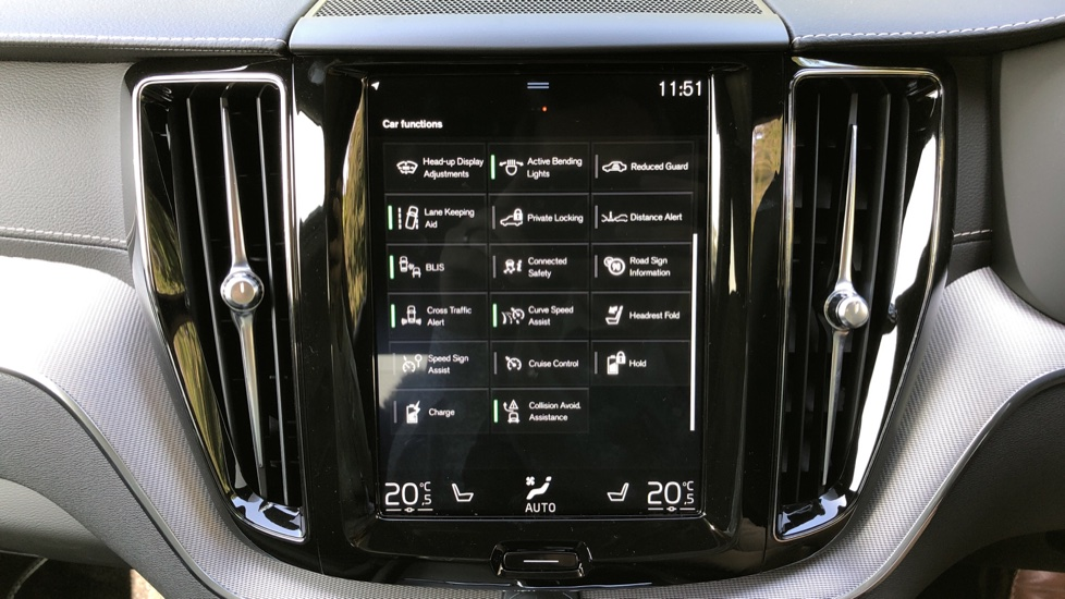Volvo XC60 T8 Hybrid R Design Pro AWD Auto, Bowers & Wilkins, Xenium, Family & Convenience Packs, Sunroof image 30