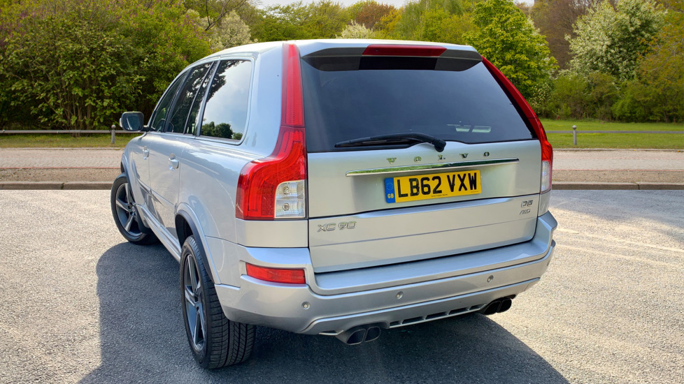 Volvo XC90 2 4 D5 R DESIGN Nav Auto, Privacy Glass, Heated Seats, 19 Inch  Wheels, Rear Park Assist Diesel Automatic 5 door Estate (2012) available