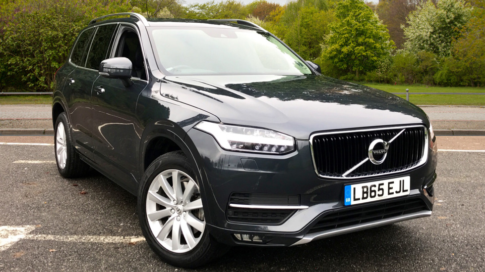 Volvo XC90 2.0 D5 AWD Momentum Auto with Winter Pack, Family Pack & Rear Park Assist Diesel Automatic 5 door Estate (2015) image