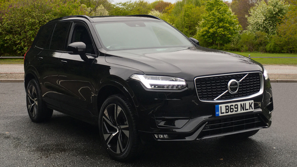 Volvo XC90 B5D Mild Hybrid RDesign AWD AT, Winter & Family Pks, Panoramic Roof, Head Up Display, DAB 2.0 Diesel Automatic 5 door 4x4 (2020)