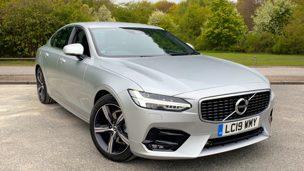 Volvo S90 2.0 D4 R Design Nav Auto with Winter Pack, Sports Seats, Sensus Navigation, Front & Rear Park Assist Diesel Automatic 4 door Saloon (2019) image