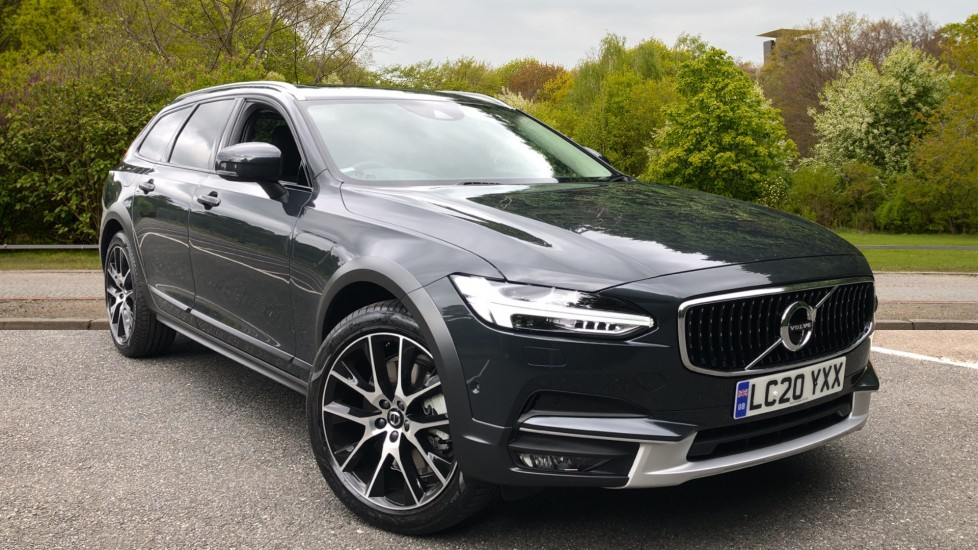 Volvo V90 D4 Cross Country Plus AWD AT, Xenium, Family & Winter Pks, HK Audio, BLIS, Tints, 20in Alloys 2.0 Diesel Automatic 5 door 4x4 (2020)