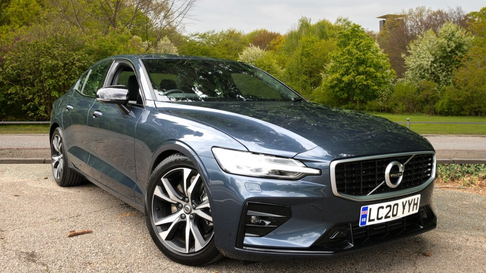 Volvo S60 T5 R Design Plus Auto, Nav, Active Bending Lights, Head Up Display, Keyless Drive, F & R Sensors 2.0 Automatic 4 door Saloon (2020)