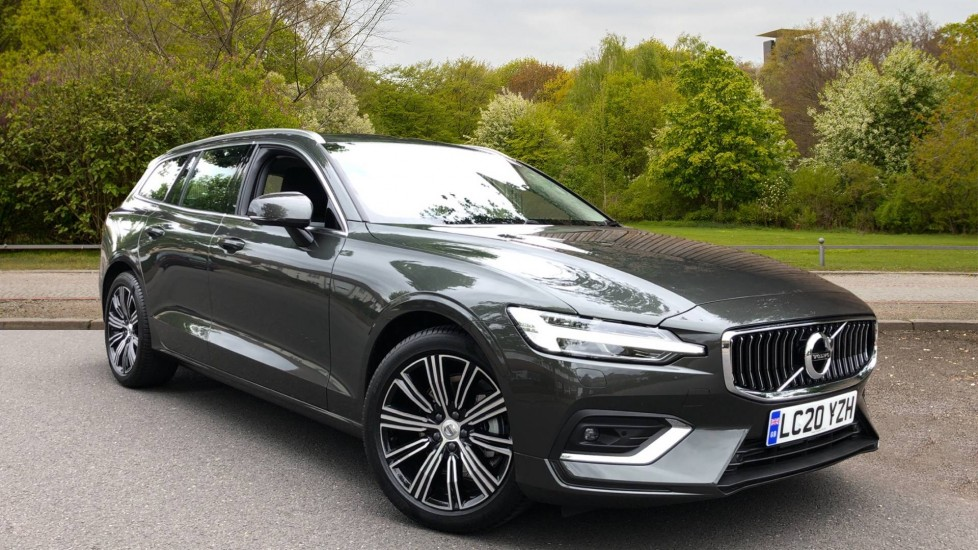 Volvo V60 D3 Inscription Plus Auto, Winter Pack, Nav, Active Bending Lights, DAB Radio, Keyless Drive 2.0 Diesel Automatic 5 door Estate (2020)