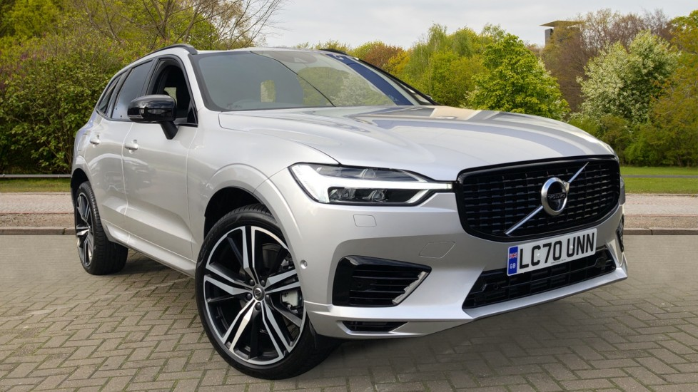 Volvo XC60 T6 Recharge PHEV R Design AWD Auto, Nav, Sunroof, Lounge & Climate Packs, Heated Screen, 360 Camera image 1 thumbnail