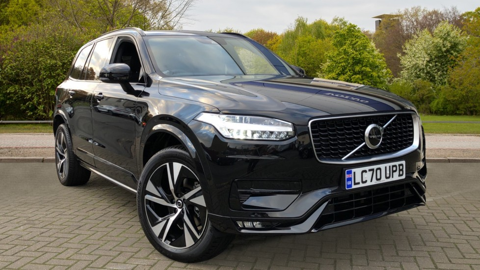 Volvo XC90 B5D Mild Hybrid R Design AWD Auto, Winter & Family Packs, Booster Seat, Harman Kardon, BLIS 2.0 Diesel/Electric Automatic 5 door 4x4 (2020) at Volvo Croydon thumbnail image