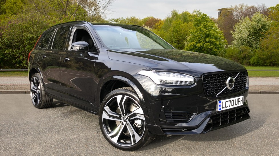 Volvo XC90 T8 Recharge PHEV R Design Pro AWD Auto, Lounge, Climate, Tech & Driver Assist Packs, Sunroof 2.0 Petrol/Electric Automatic 5 door 4x4 (2021) image