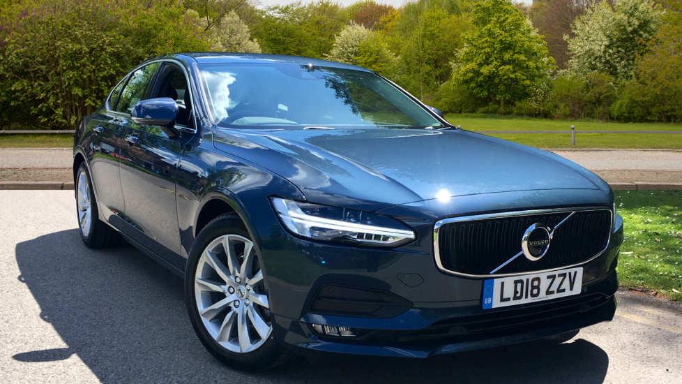 Volvo S90 D4 Momentum Pro Auto with Family Pack, 360 Camera, & Intellisafe Pro Pack 2.0 Diesel Automatic 4 door Saloon (2018) image