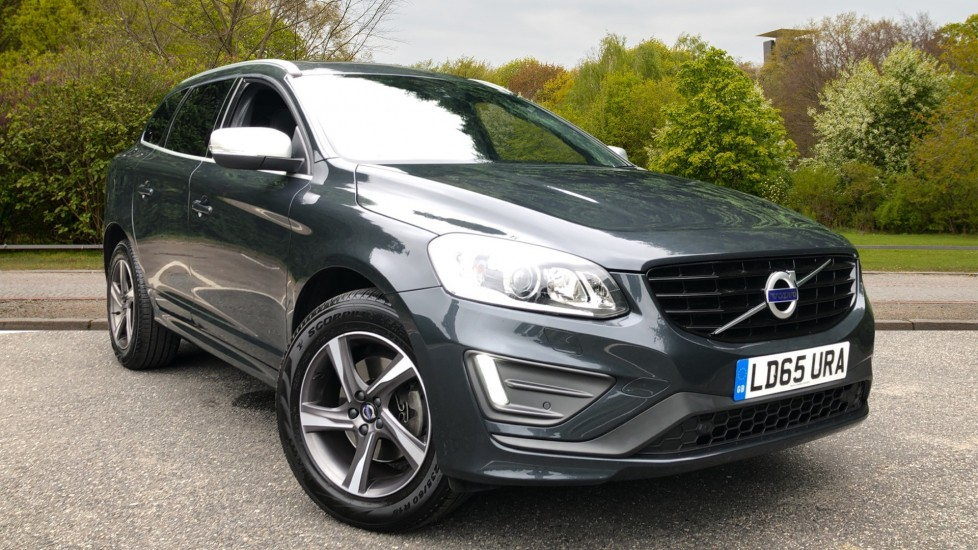 Volvo XC60 D4 R Design Lux Nav AWD Auto, Winter & Family Pks, Active Bending Lights, Sunroof, Paddle Shifters 2.4 Diesel Automatic 5 door 4x4 (2015)