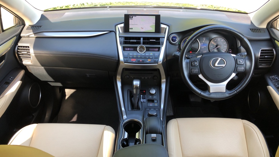 Lexus NX 300h 2.5 Luxury 5dr CVT Auto, Hybrid, F & R Sensors, Rr. Camera, Adaptive Cruise, DAB image 5